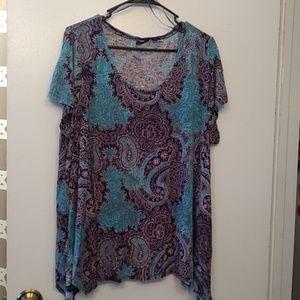 Willi Smith size 3x women's blouse